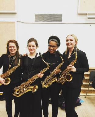 Saxophone girls