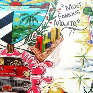 Wallart in Little Havana (my fav one!)