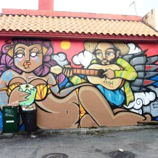 Wallart in Little Havana