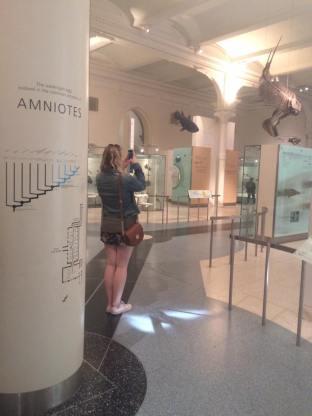 Geeking out at AMNH