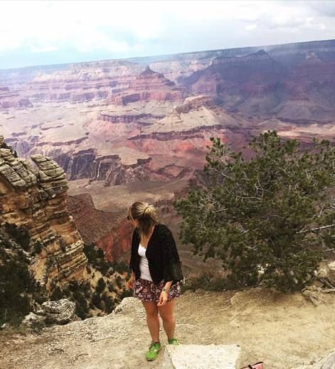 2nd day hair at the Grand Canyon of all places..!
