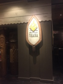 In the Polynesian Resort