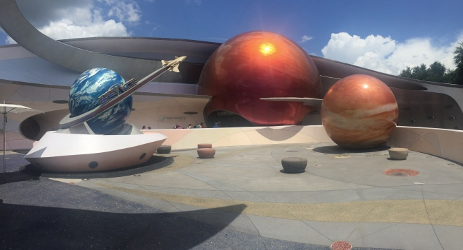 Outside Mission: Space