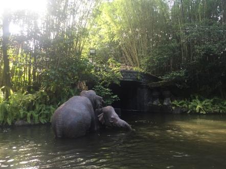 Real life fake elephants