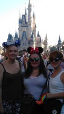 Me & sisters by Cinderella's Castle FL
