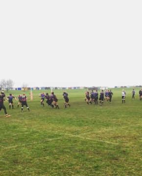 Watching sibling 1 play rugby