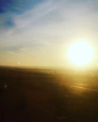 Views from plane windows