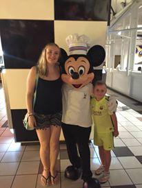 2015 - Disney FL with my cousin